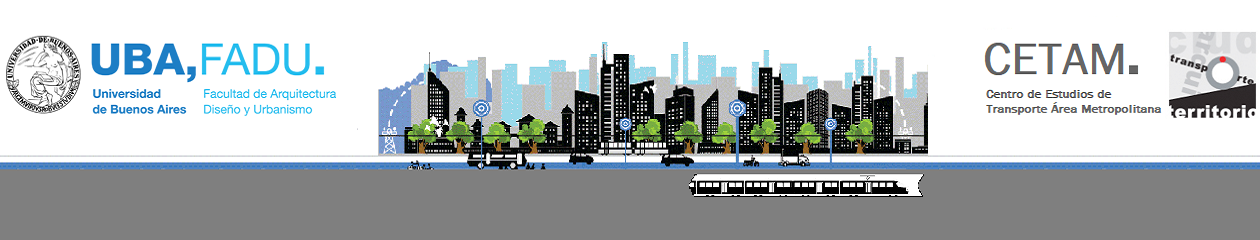 CETAM – Centro de Estudios del Transporte Área Metropolitana